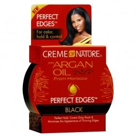 CREAM OF NATURE Gel PERFECT EDGES BLACK 63.7g