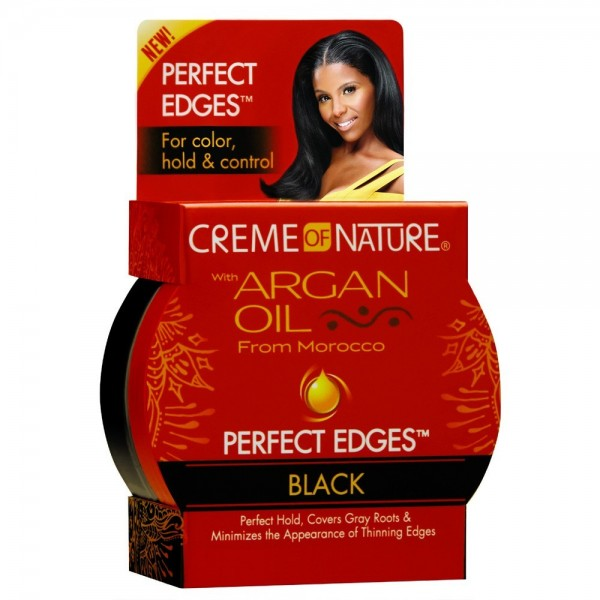 CREME OF NATURE Gel PERFECT EDGES BLACK 63.7g