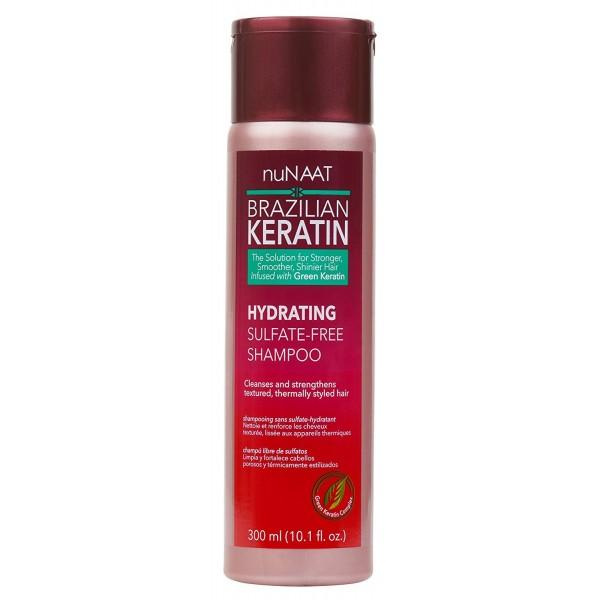NUNAAT Shampoing sans sulfate hydratant (Hydrating sulfate-free shampoo) 300ml