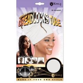 Tube for Dreadlocks BLACK
