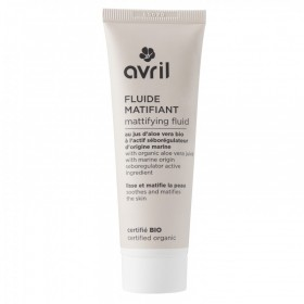 AVRIL Fluide matifiant ALOÉ VERA BIO 50ml