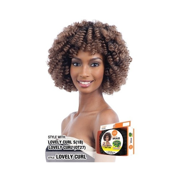 MODEL MODEL natte LOVEY CURL (Loop)