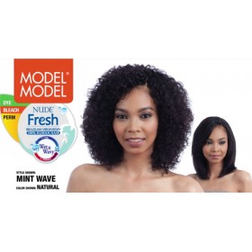 MODEL weave MINT WAVE (Wet and wavy)