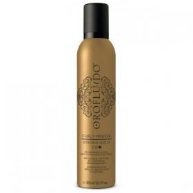 OROFLUIDO Mousse de beauté pour cheveux bouclés 300ml (Fixation Forte)