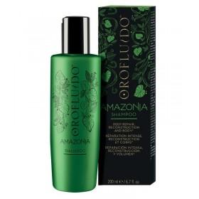 OROFLUIDO Shampoing de beauté pour cheveux affaiblis et abîmés AMAZONIA 200ml