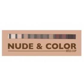 MISS COP Palette de maquillage Nude & Color
