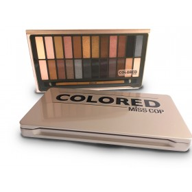 MISS COP Palette de maquillage Colored