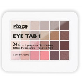 MISS COP Palette de maquillage Eye Tab 1