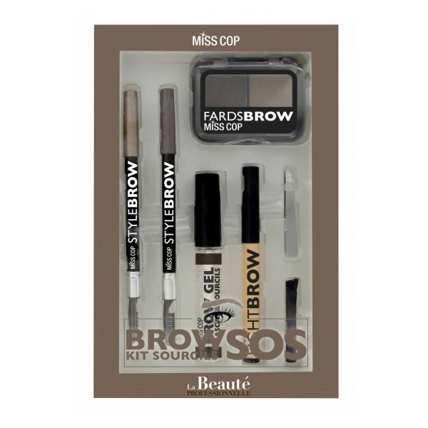 MISS COP Kit SOS sourcils (SOS eyebrow kit)