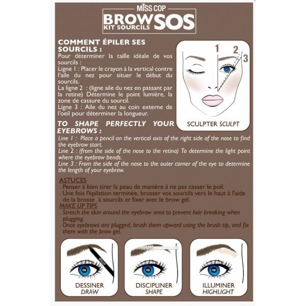Kit SOS sourcils (SOS eyebrow kit)