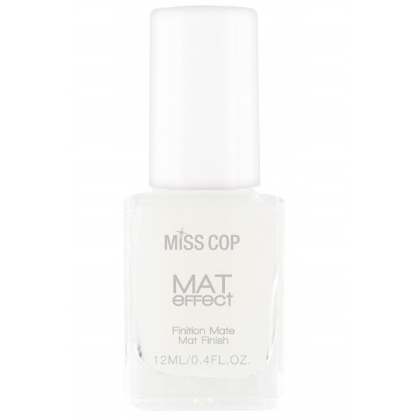 MISS COP Vernis TOP COAT MAT 12 ml