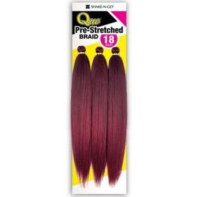 """MILKYWAY QUE braid braid 3x PRE-STRETCHED BRAID 18"""""""