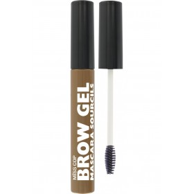 MISS COP Mascara sourcils brow gel brun