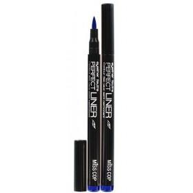 MISS COP Semi-permanent felt contour EYE Perfect Liner *31 BLUE