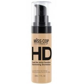 MISS COP Fond de teint fluide HD Lumière 30 ml