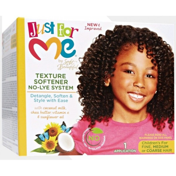 JUST FOR ME Kit assouplissant enfants TEXTURE SOFTENER