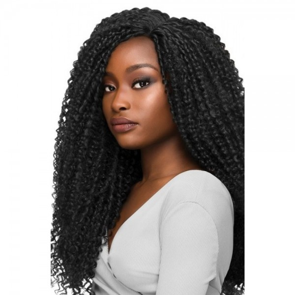 OUTRE perruque CURLY (Lace Front)