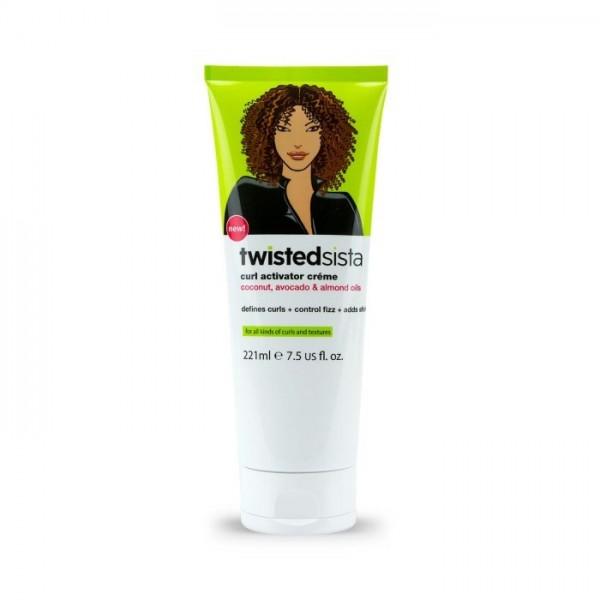 TWISTED SISTA Crème activatrice de boucles (Curl Activator Créme)