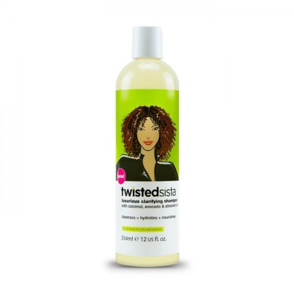 TWISTED SISTA Shampooing Clarifiant Luxueux (Luxurious Clarifying Shampoo) 354 ml
