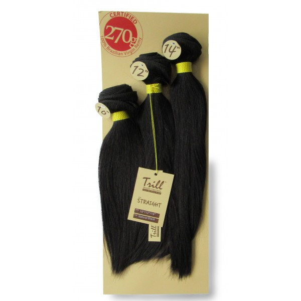 "MANE tissage TRILL STRAIGHT 3 PCS 10""/12""/14"""