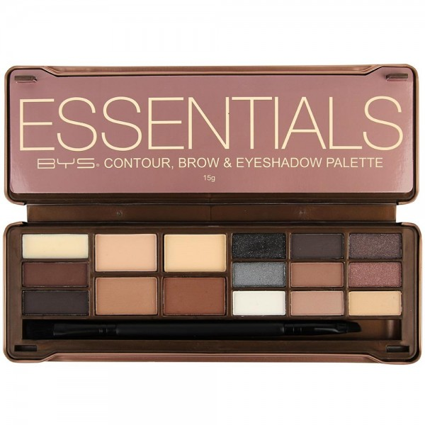 BE YOUR SELF Palette maquillage teint et yeux ESSENTIALS 12g