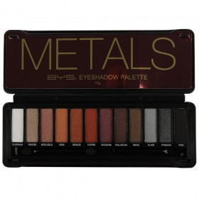 BE YOUR SELF Palette Make-Up Artist METALS 12g
