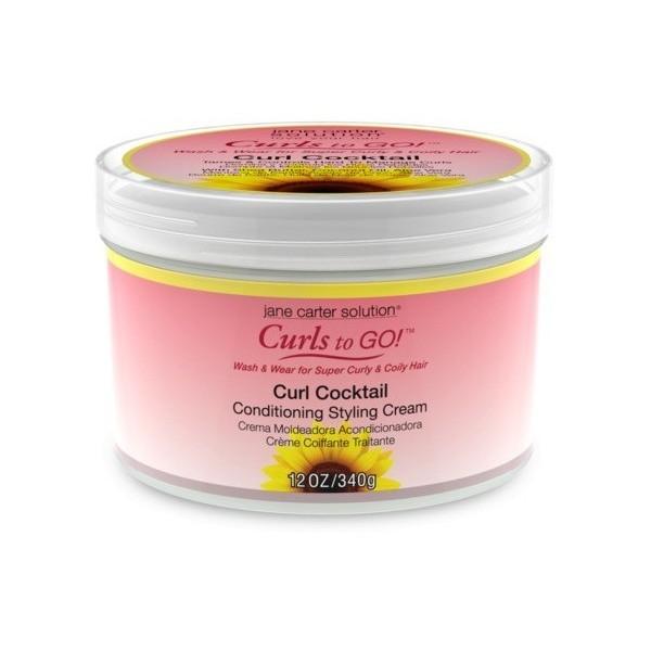 JANE CARTER Crème définissante pour boucles 340g (Curl Cocktail)