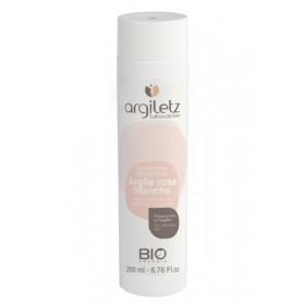 ARGILETZ Shampooing adoucissant à l'argile rose et blanche cheveux secs Bio 200 ml