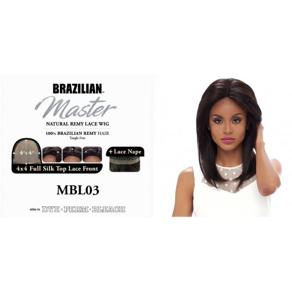 HARLEM perruque MBL03 (Lace Front)