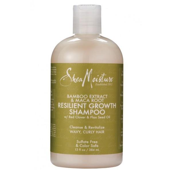 SHEA MOISTURE Shampooing Bamboo & Maca Root 384ml