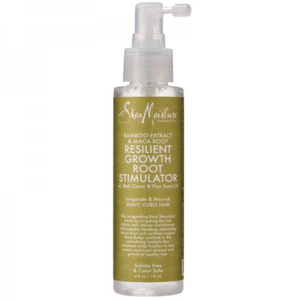 SHEA MOISTURE Stimulant cheveux Bamboo & Maca Root 118ml