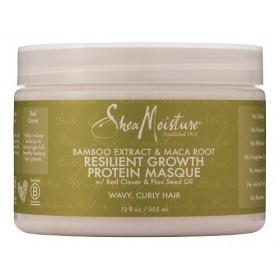 SHEA MOISTURE Masque protéiné croissance Bamboo & Maca Root 355ml