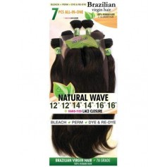 URBAN BEAUTY tissage BRAZILIAN NATURAL WAVE 7 PCS