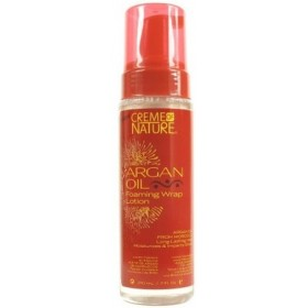 CREME OF NATURE Lotion mise en plis à l'huile d'Argan 210ml
