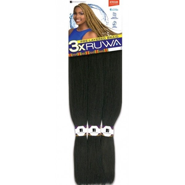 SENSAS natte 3x RUWA PRE-LAYERED BRAID 48""