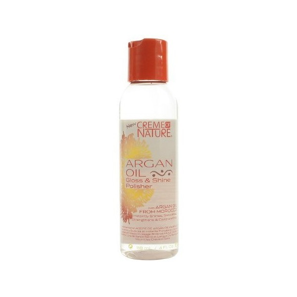 CREME OF NATURE Sérum lissant à l'huile d'argan 118ml