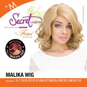 FEMI perruque MALIKA (The M Secret Lace Front Pre-Tweezed Part)
