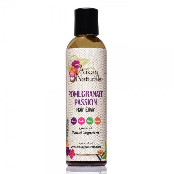 ALIKAY NATURALS Elixir pour cheveux POMEGRANATE PASSION 118ml