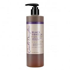 Shampooing sans sulfates BLACK VANILLA 355ml