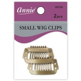 ANNIE 3124 Clips de fixation pour perruque x2 (blonds)