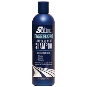 LUSTER'S SCURL Shampooing sans sulfates CHARCOAL MINT 355ml