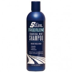 LUSTER'S SCURL Sulphate Free Shampoo CHARCOAL MINT 355ml