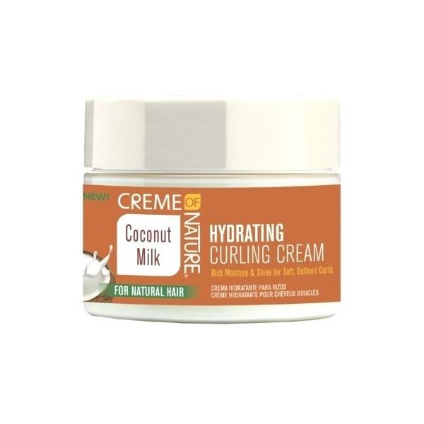 CREME OF NATURE Crème hydratante pour boucles COCONUT MILK 326g
