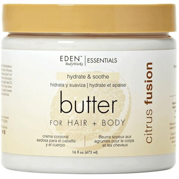 EDEN BODYWORKS Beurre hydratant pour corps et cheveux CITRUS FUSION 473ml