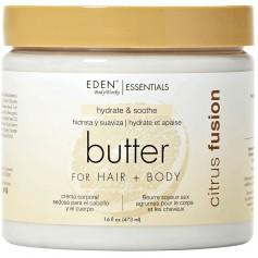 Beurre hydratant pour corps et cheveux CITRUS FUSION 473ml