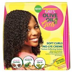 ORS Kit assouplisseur de boucles pour enfants (Soft Curls no-lye creme)