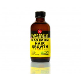 ECO STYLER Special Hair Oil Repels BLACK CASTOR & FLAXSEED 118ml (Maximum Hair Growth)