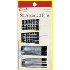 """Assorted pins 2 sizes x50 """"Assorted pins"""" hairpins"""