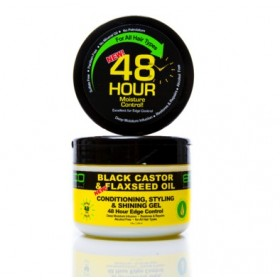 ECO STYLER Gel coiffant 48H BLACK CASTOR & FLAXSEED 325ml
