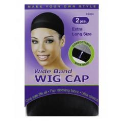 ANNIE Wide Band Wig Cap x2